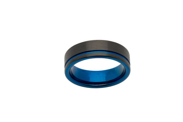 Unique & Co Tungsten Ring TUR-58 - Hamilton & Lewis Jewellery