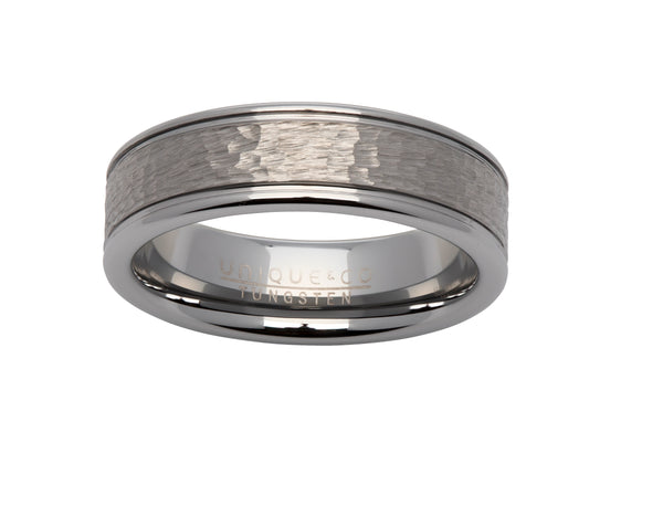 Unique & Co Tungsten Ring TUR-66 - Hamilton & Lewis Jewellery