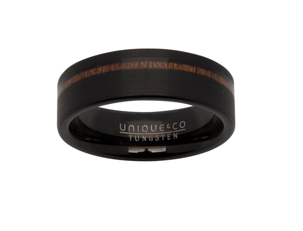 Unique & Co Tungsten Ring TUR-74 - Hamilton & Lewis Jewellery