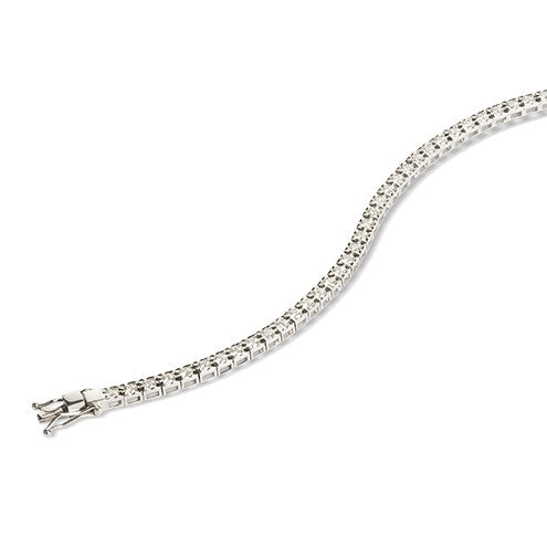 Timeless- Diamond Line Bracelet 2.00ct - Hamilton & Lewis Jewellery