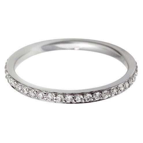 2mm Grain Set Wedding Band - Hamilton & Lewis Jewellery