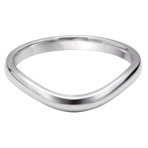Wave Shaped Wedding Ring - Hamilton & Lewis Jewellery