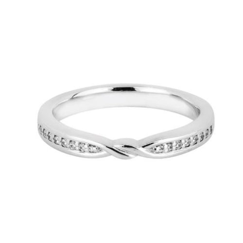 'Love knot' Shaped Wedding Ring - Hamilton & Lewis Jewellery