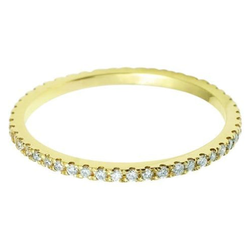 1.35mm Vintage Eternity With Scalloped Edge Setting. - Hamilton & Lewis Jewellery