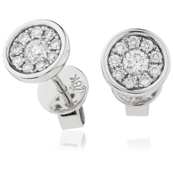 Cluster Earring Set 0.30ct - Hamilton & Lewis Jewellery