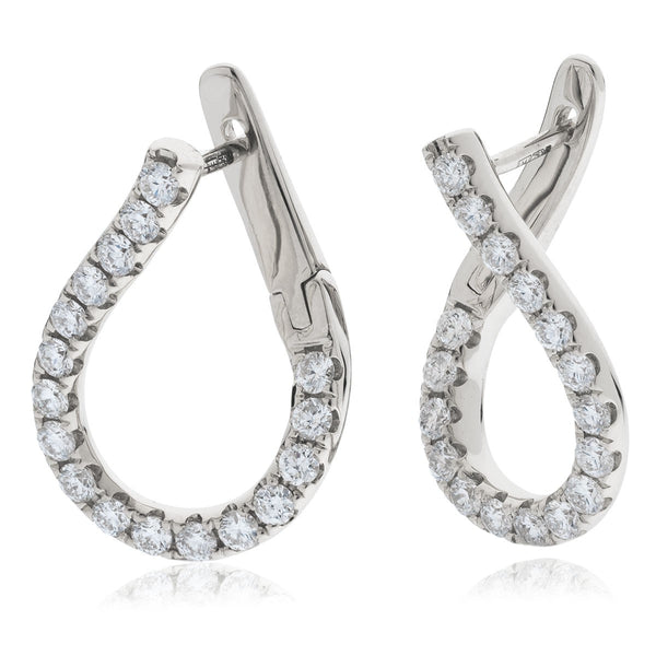 Diamond Hoop Earring Set 0.50ct - 2.00ct - Hamilton & Lewis Jewellery