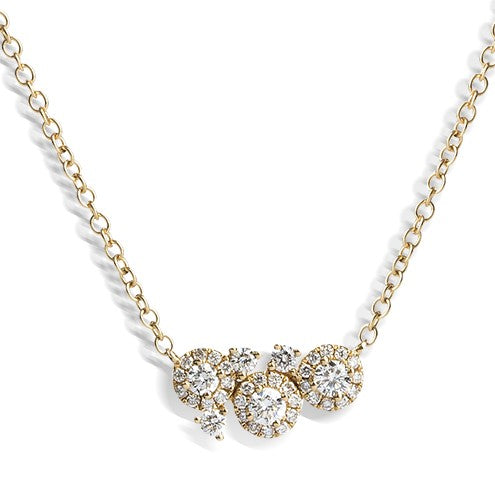 Dew- Small Necklace 0.39ct - Hamilton & Lewis Jewellery