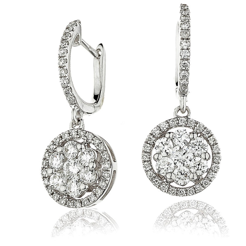 Diamond Drop Earring Set 1.15ct - Hamilton & Lewis Jewellery