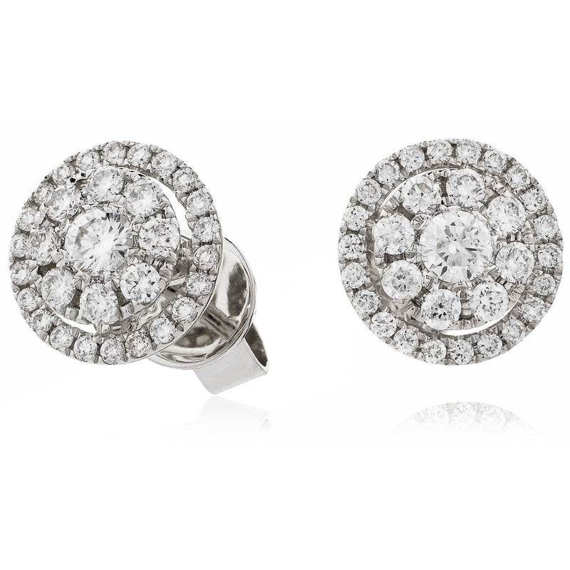 Cluster Earring Set 0.55ct - Hamilton & Lewis Jewellery