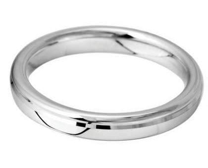 5mm Mens Ring with F15 finish - Hamilton & Lewis Jewellery