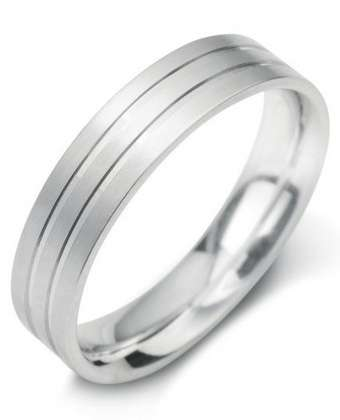 5mm Mens Ring with F21 finish - Hamilton & Lewis Jewellery