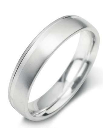 5mm Mens Ring with F23 finish - Hamilton & Lewis Jewellery