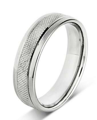 5mm Mens Ring with F33 finish - Hamilton & Lewis Jewellery
