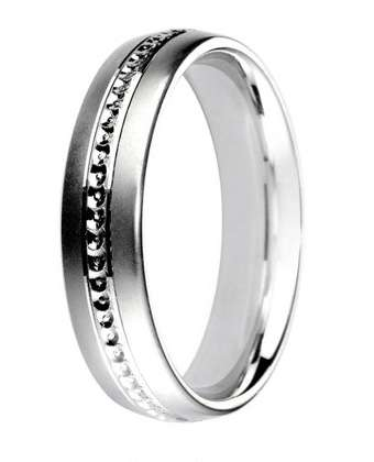 5mm Mens Ring with F58 finish - Hamilton & Lewis Jewellery
