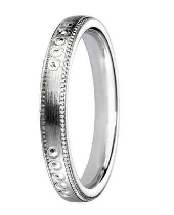 5mm Mens Ring with F59 finish - Hamilton & Lewis Jewellery