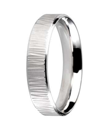 6mm Mens Ring with F84 finish