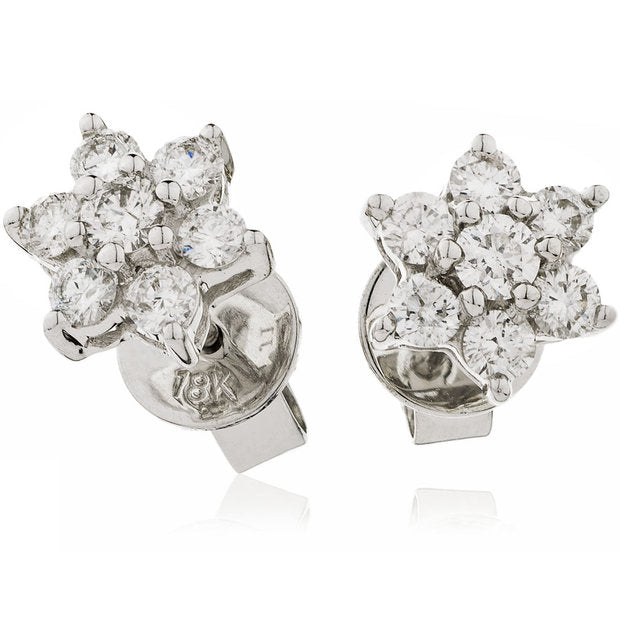 Cluster Earring Set 0.25ct - 4.30ct - Hamilton & Lewis Jewellery