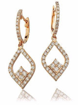Diamond Drop Earring Set 1.00ct - Hamilton & Lewis Jewellery
