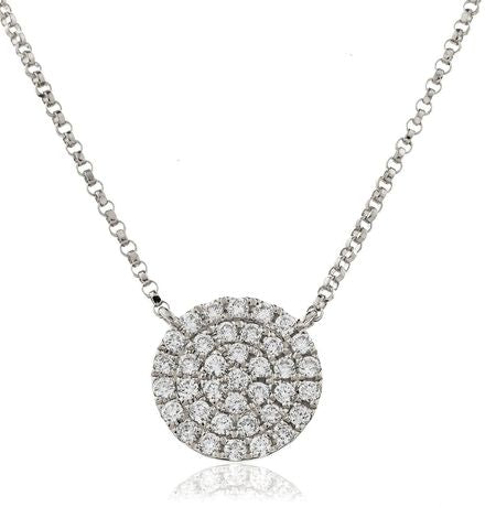 Circle of Life Pendant BJN0043 - Hamilton & Lewis Jewellery