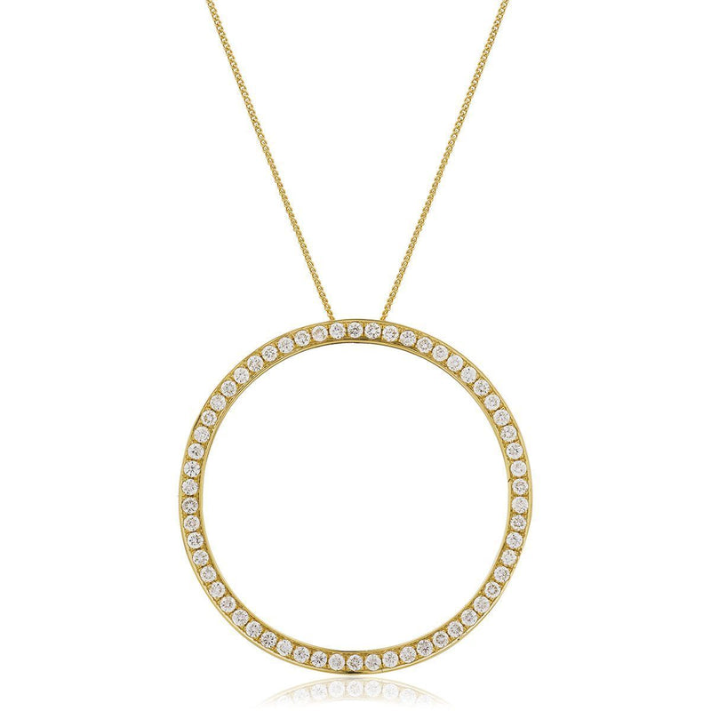 Circle of Life Pendant BJP0094 - Hamilton & Lewis Jewellery