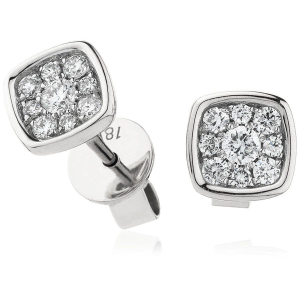 Cluster Earring Set 0.20ct - Hamilton & Lewis Jewellery