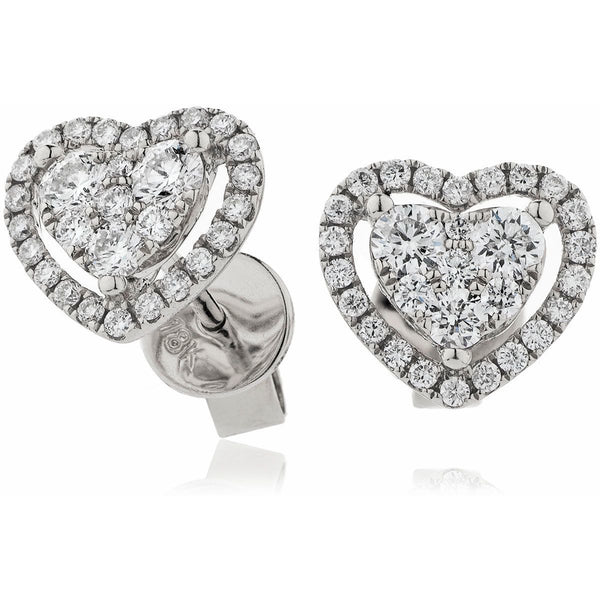 Cluster Earring Set 0.65ct - Hamilton & Lewis Jewellery