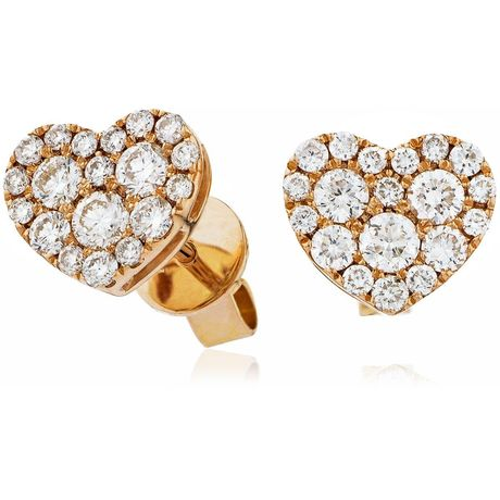 Cluster Earring Set 0.70ct - Hamilton & Lewis Jewellery