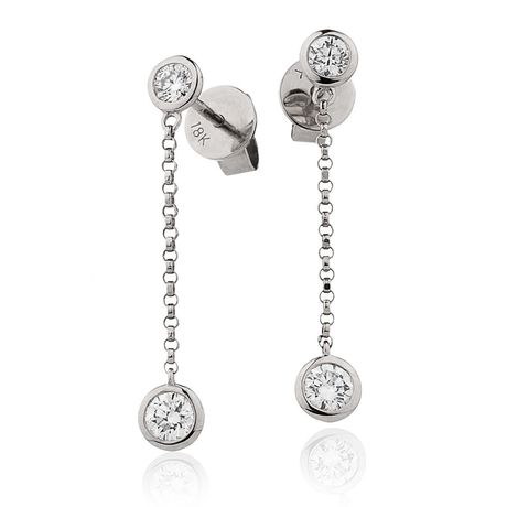 Diamond Drop Earring Set 0.55ct - Hamilton & Lewis Jewellery