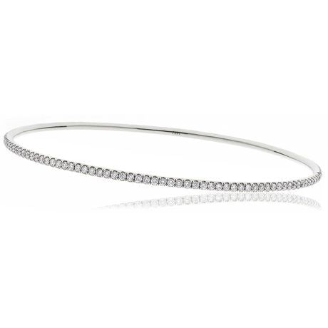 Claw set bangle 1.60ct - 2.95ct - Hamilton & Lewis Jewellery