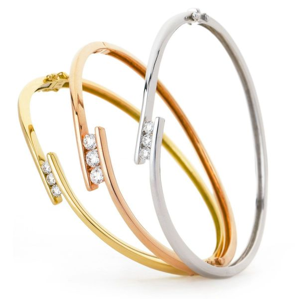 Channel set bangle 0.33ct - 0.75ct - Hamilton & Lewis Jewellery