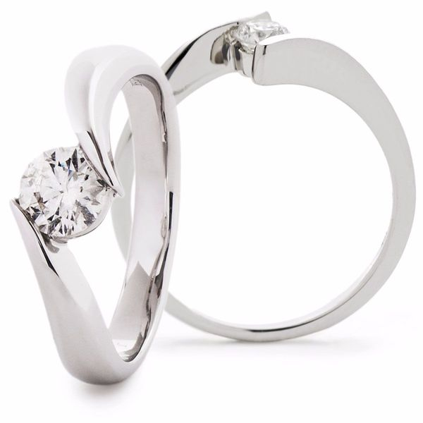 Solitaire Ring 0.25ct - 0.50ct - Hamilton & Lewis Jewellery