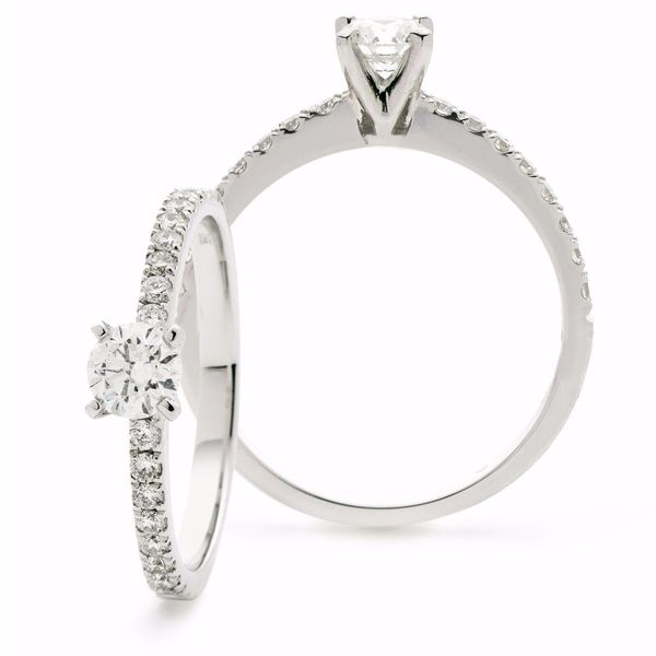 Round Four Claw Ring 0.50ct - 0.75ct - Hamilton & Lewis Jewellery