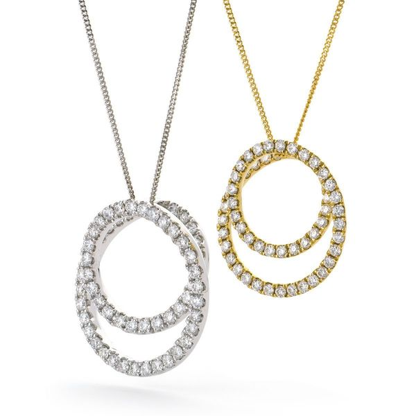 Circle of Life Pendant BJP0087 - Hamilton & Lewis Jewellery