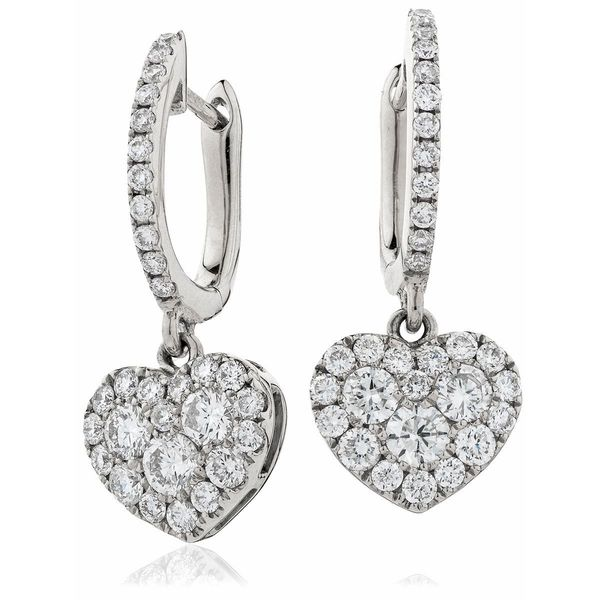 Diamond Drop Earring Set 0.90ct - Hamilton & Lewis Jewellery