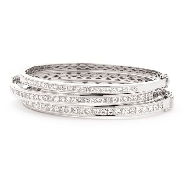Channel set bangle 0.90ct - 2.65ct - Hamilton & Lewis Jewellery
