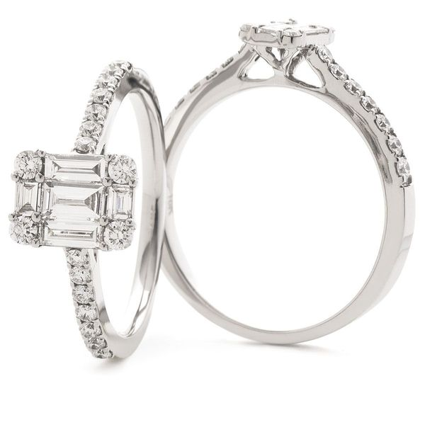 Classic Cocktail Cluster Ring 0.50ct - 0.90ct - Hamilton & Lewis Jewellery