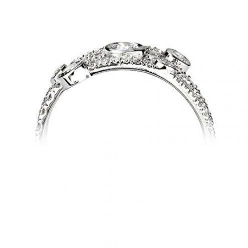 Multi-stone Ring 0.89ct - Hamilton & Lewis Jewellery
