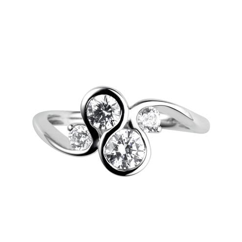 Stunning Lifestyle Ring 0.75ct - Hamilton & Lewis Jewellery