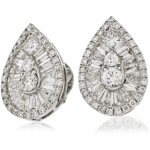 Cluster Earring Set 1.30ct - 2.00ct - Hamilton & Lewis Jewellery