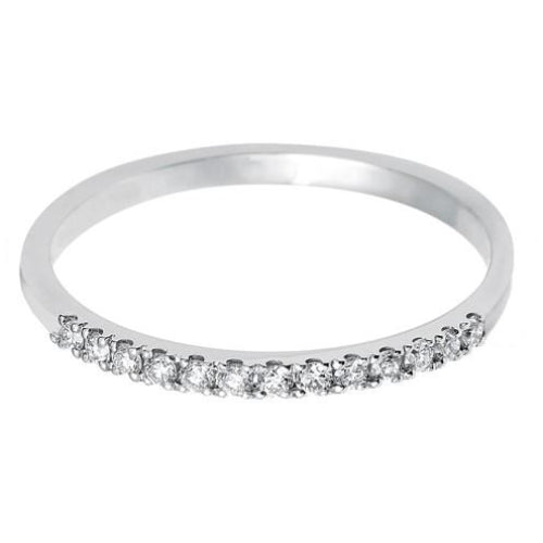 1.35mm (40%) Vintage Eternity With Scalloped Edge Setting. - Hamilton & Lewis Jewellery