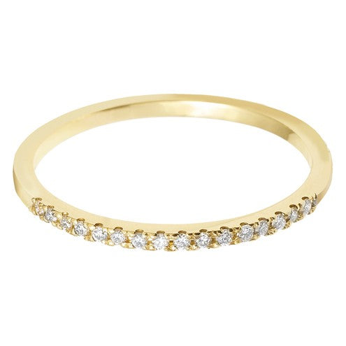 1.5mm (40%) Vintage Eternity With Scalloped Edge Setting. - Hamilton & Lewis Jewellery