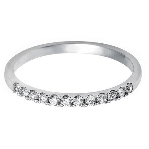 1.7mm (40%) Vintage Eternity With Scalloped Edge Setting. - Hamilton & Lewis Jewellery
