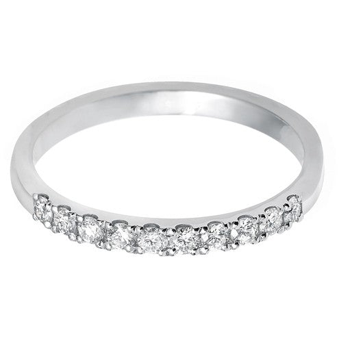 2mm (40%) Vintage Eternity With Scalloped Edge Setting. - Hamilton & Lewis Jewellery
