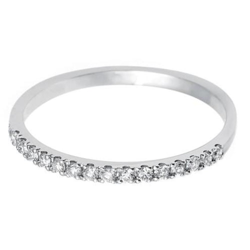 1.35mm (60%) Vintage Eternity With Scalloped Edge Setting. - Hamilton & Lewis Jewellery