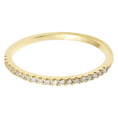 1.5mm (60%) Vintage Eternity With Scalloped Edge Setting. - Hamilton & Lewis Jewellery