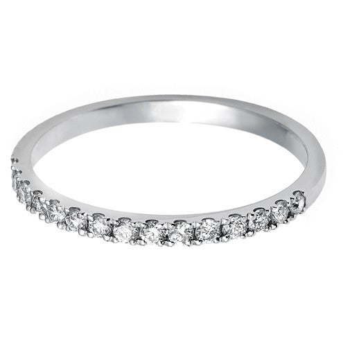 1.7mm (60%) Vintage Eternity With Scalloped Edge Setting. - Hamilton & Lewis Jewellery