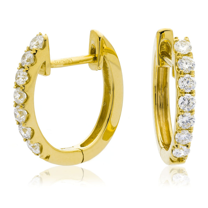 Diamond Hoop Earring Set 0.30ct - Hamilton & Lewis Jewellery