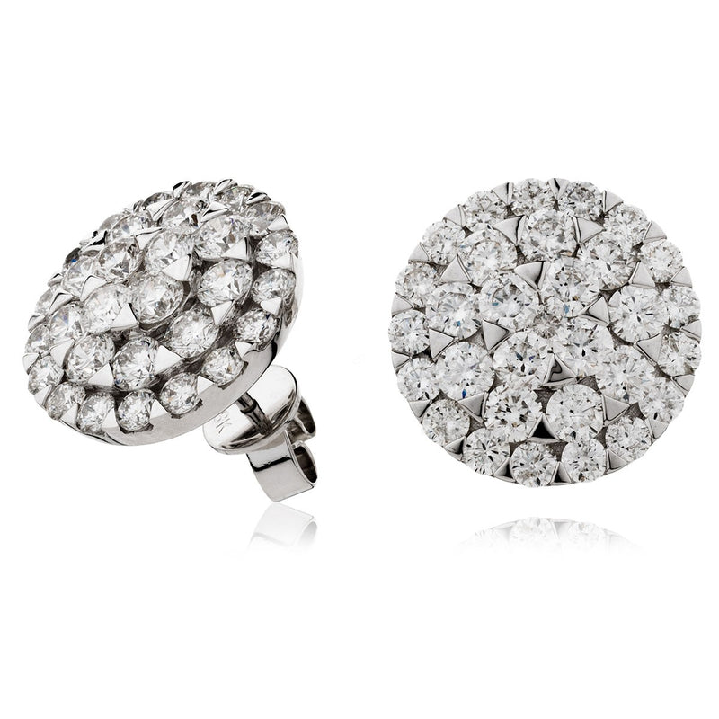 Cluster Earring Set 4.00ct - Hamilton & Lewis Jewellery