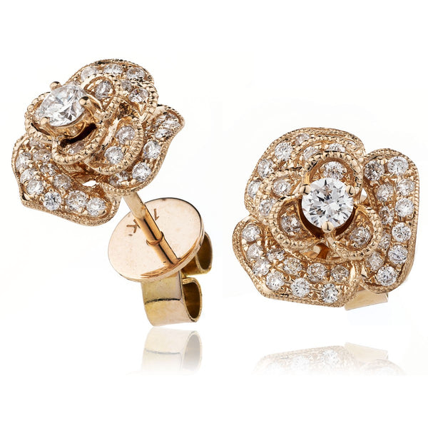 Flower Cluster Earring Set 0.55ct - Hamilton & Lewis Jewellery