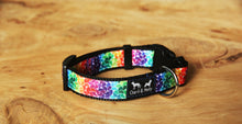 Load image into Gallery viewer, Rainbow Drops Dog Collar